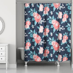 Cansler Florals Single Shower Curtain
