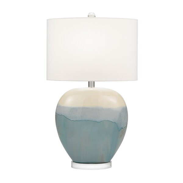 Colletti Ceramic Rounded Urn 31 Table Lamp by Highland Dunes