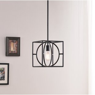 Gracie Oaks Millgrove 1-Light Square/Rectangle Pendant