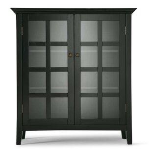 Best Reviews Acadian 2 Door Accent Cabinet BySimpli Home