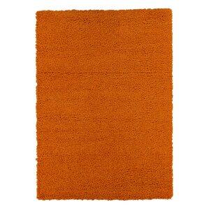 Orange Shag Area Rugs orange shag & flokati rugs you'll love | wayfair