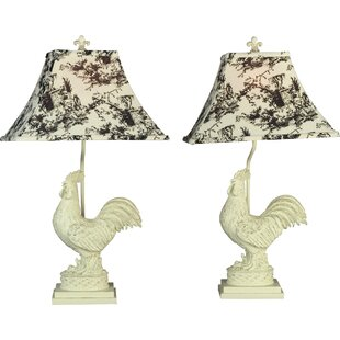 Affordable Rooster 25 Table Lamp By AA Importing