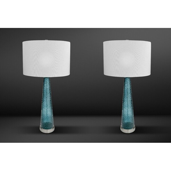 Everly Quinn Thayne 32 Standard Table Lamp Set Reviews Wayfair