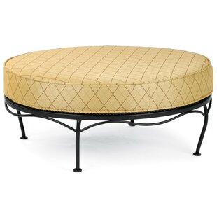 Woodard Universal Oval Ottoman with Cushions