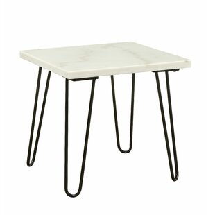Lacluta End Table by Wrought Studio