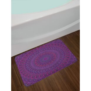 Purple Eggplant Bath Rug