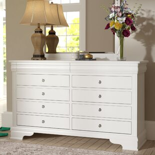 Hewitt 6 Drawer Double Dresser by Three Posts
