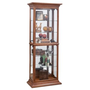 Fairfield I Lighted Curio Cabinet by Philip Reinisch Co.