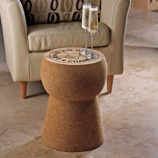 Wine Enthusiast Giant Champagne Cork Stool/Table