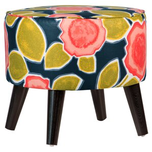 Bridgeport Upholstered Ottoman by Skyline Furniture