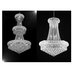 Astoria Grand Litzy 2 Piece Empire Chandelier Set