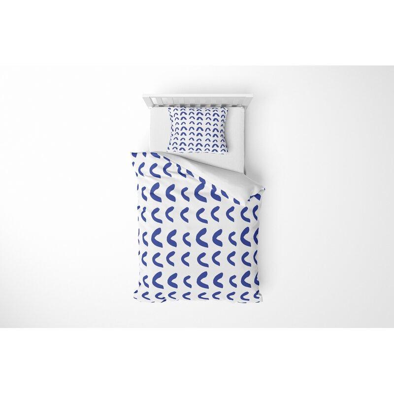 Ebern Designs Anbritt Half Circle Comforter Set Wayfair
