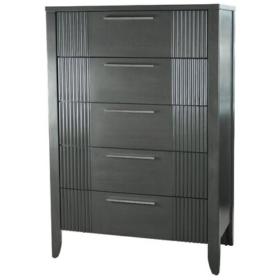 Brayden Studio Coppin 5 Drawer  Standard Dresser Chest