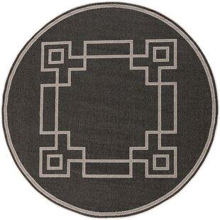 Amherst Black/Beige Indoor/Outdoor Area Rug by Sol 72 Outdoor