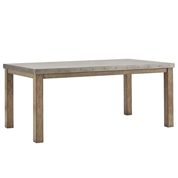 950646d11c78 Modern   Contemporary Concrete Top Dining Table