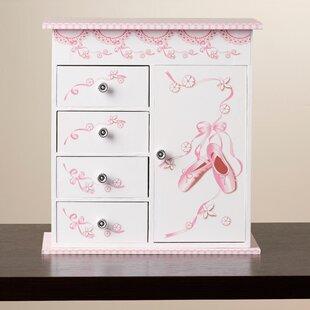 Duke Ballerina Musical Jewelry Box with Door by Viv + Rae