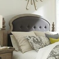 One Allium Way Paredes Upholstered Panel Headboard