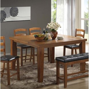 Gossett Solid Wood Dining Table Red Barrel Studio