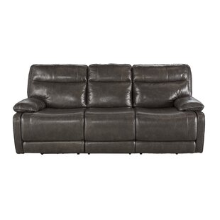 Gigi Leather Reclining Sofa Trent Austin Design #2