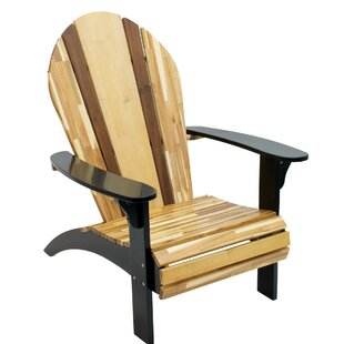 Innovations Solid Wood Adirondack Chair by Rio Brands