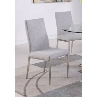 Liberty Upholstered Dining Chair (Set of 2) Orren Ellis