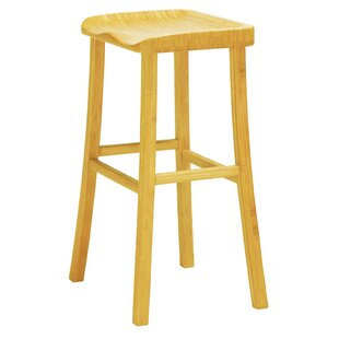 Tulip 30 Bar Height Stool (Set of 2) Greenington