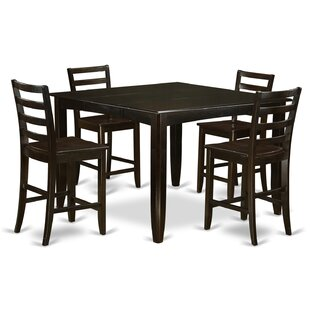 Tamarack 5 Piece Counter Height Dining Set Red Barrel Studio