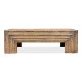 Solid Wood 4 Legs Coffee Table by Sarreid Ltd