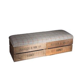 Gepolsterte Schlafzimmerbank Apple Box mit Stauraum von Tiffany Jayne Designs