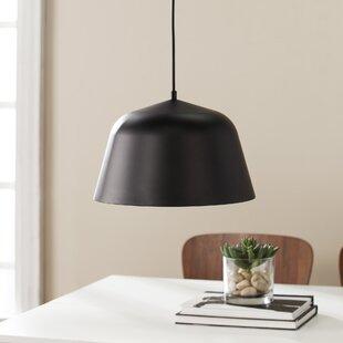 Wrought Studio Doster 1-Light LED Dome Pendant