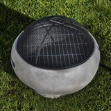 Wharden Concrete Wood Burning Fire Pit