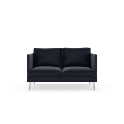 Superb Brayden Studio Sabina Loveseat Upholstery Midnight Finish Ibusinesslaw Wood Chair Design Ideas Ibusinesslaworg