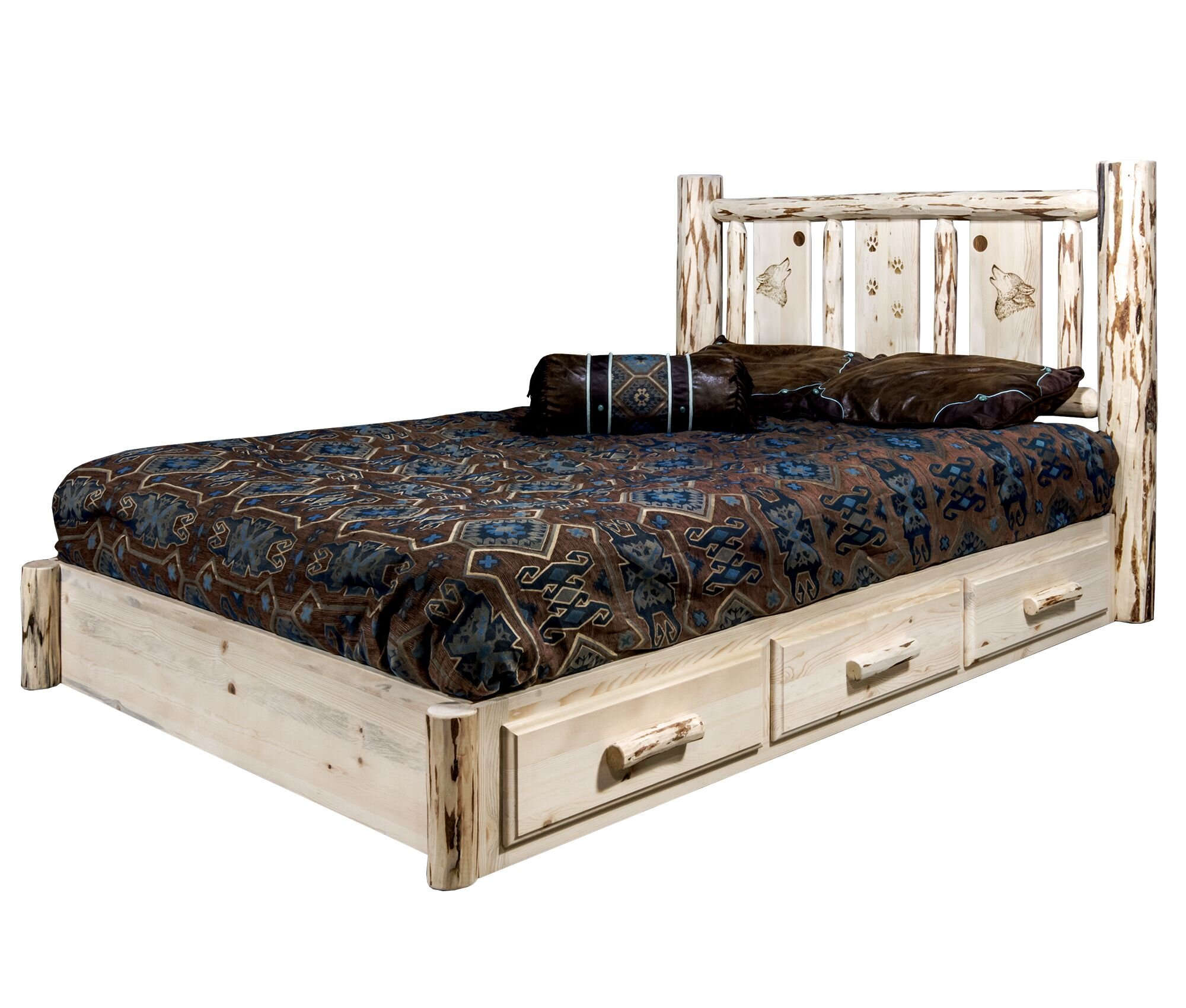 Wayfair Country Of Origin Made In Usa Platform Beds You Ll Love In 2021