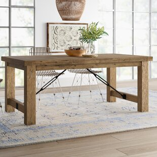 Mistana Dulce Extendable Solid Wood Dinin..