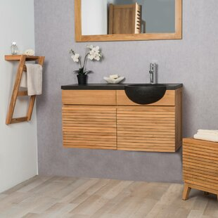 Maghull 100mm Wall Hung Single Vanity Unit By Bay Isle Home