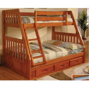 Trumble Twin Over Full Bunk Bed with Drawers