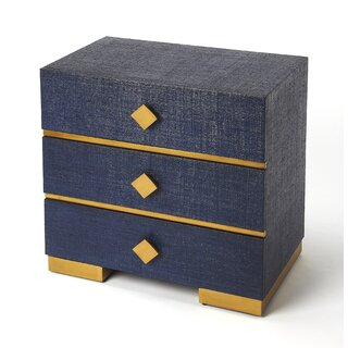 Weigle 3 Drawer Accent Chest by Mercer41 SKU:EA859723 Purchase