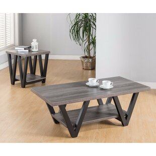 Latitude Run Duerr 2 Piece Coffee Table Set