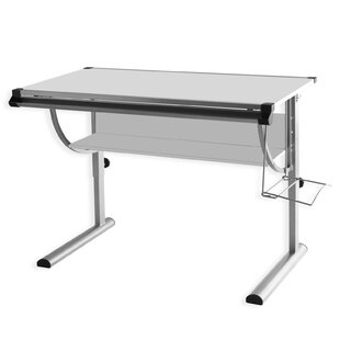 Cindy 118cm Art Desk By Symple Stuff
