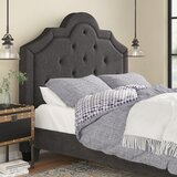 Cassville Upholstered Panel Headboard by Three Posts™