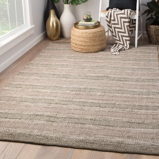 Perpetua Handwoven Flatweave Taupe/Gray Indoor/Outdoor Area Rug