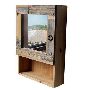 Connor 35cm X 50cm Mirrored Wall Mounted Cabinet By Longshore Tides