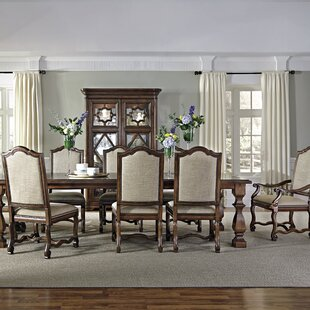 Montebella Extendable Solid Wood Dining Table by Bernhardt