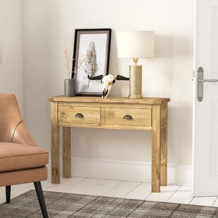 Sarkar 2 Drawer Console Table By Alpen Home