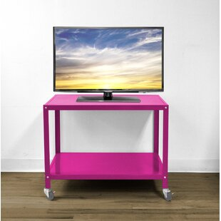 Cornwall Metallic Rolling TV Stand for TVs up to 40