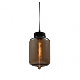 Williston Forge Aquino 1-Light Jar Pendant