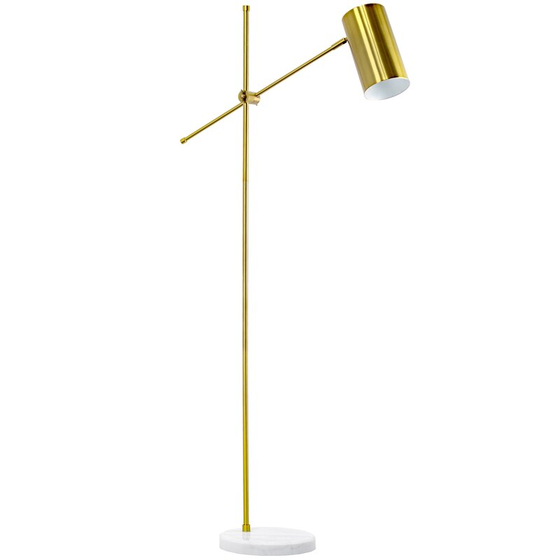 Reading Floor Lamp With Marble Base