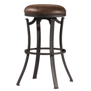 Loon Peak Karsten Round Swivel Bar Stool