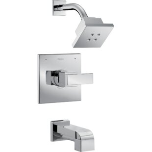 Affordable Ara ® Tub and Shower Faucet with Trim and Monitor ByDelta