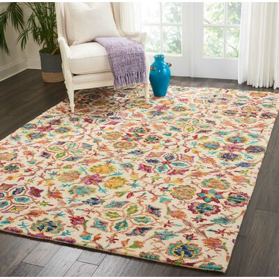 7 X 9 Ivory Amp Cream Area Rugs You Ll Love In 2019 Wayfair